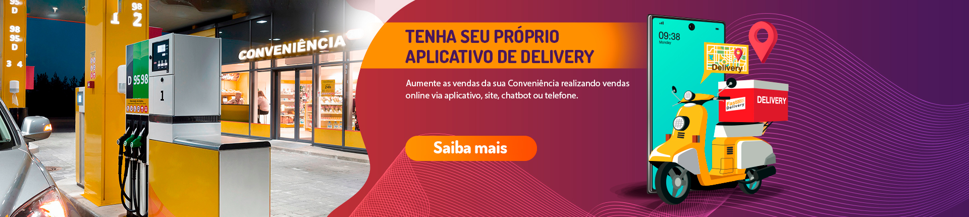 Banner Campanha Delivery App